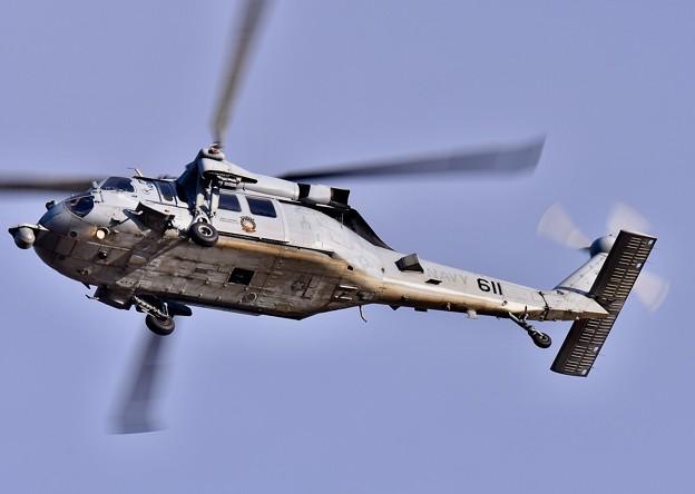 ある日の厚木基地。。HSC-12ゴールデンファルコンズ MH-60S 20180104