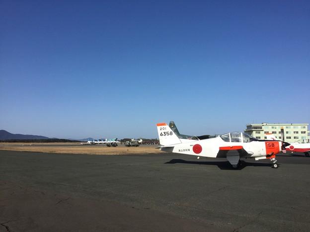 撮って出し。。今年はいい天気の芦屋基地航空祭 2月17日