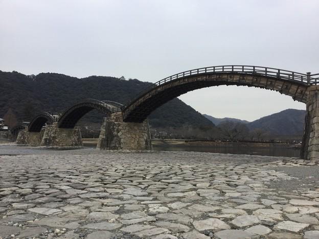 撮って出し。。普段行かない久々のシーズンオフの錦帯橋へ(^_^;) 2月19日