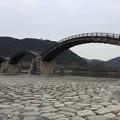 写真: 撮って出し。。普段行かない久々のシーズンオフの錦帯橋へ(^_^;) 2月19日