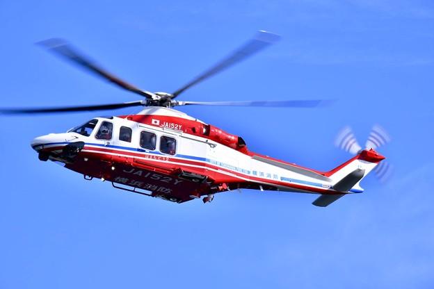 横浜消防出初式。。大地震災害後消防ヘリコプター飛来 20180107