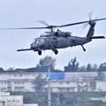 Photos: 嘉手納の空へ米空軍救難ヘリコプターHH60ペイブホーク 20180108