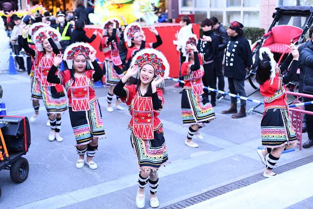 撮って出し。。可愛い子達の演舞 パレードを盛り上げる 2月24日