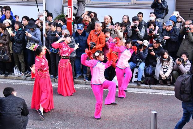 撮って出し。。春節のメインイベント  祝舞遊行 2月24日