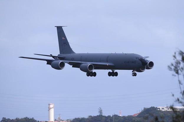 アプローチして嘉手納基地進入KC-135 20180108