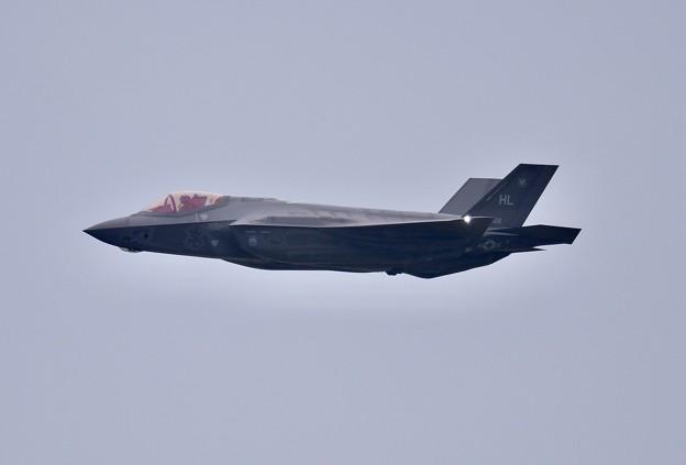 トラフィックかかって続々帰投 F-35Aローパス 20180109