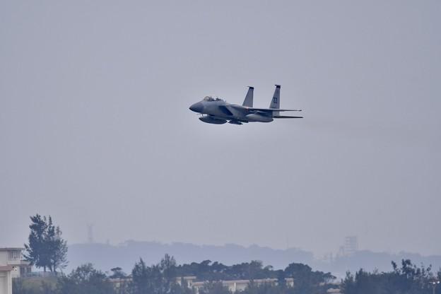Photos: トラフィックにも負けずF-15 ローパスからオーバーヘッドブレイクへ(1) 20180109