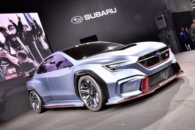 東京オートサロン。。SUBARUコンセプトカー 次へのマシン 20180113
