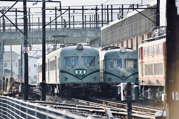 朝の大井川鐵道。。新金谷駅へ元南海20000系 20180120