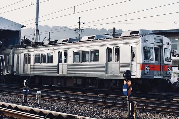 朝の大井川鐵道。。馴染みの元東急7000系 十和田電鉄経て 20180120