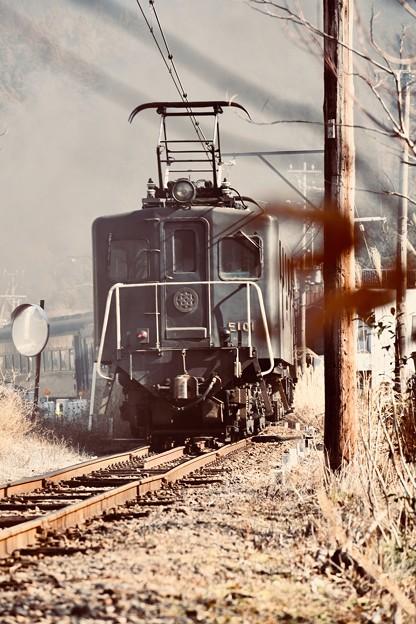 大井川鐵道のEL101電気機関車。。20180120