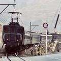 Photos: 大井川鉄道。。電気機関車E10 福用付近 20180120