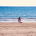 写真: 由比ヶ浜で2人で自撮り。。由比ヶ浜 20180127