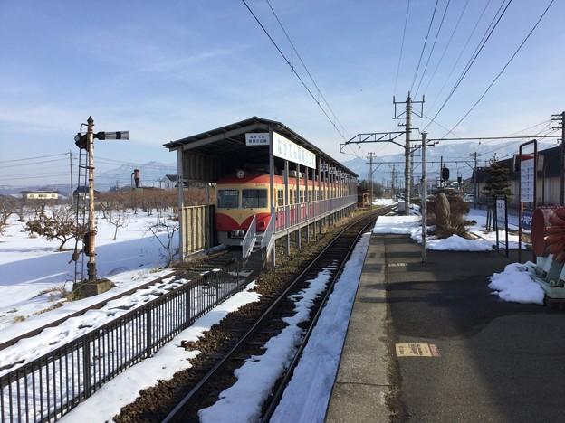 長野電鉄のオリジナル特急車両 2000系展示保存 20180203