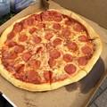 写真: 撮って出し。。アメリカンピザ ペペローニ 4月7日