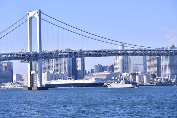 フランス海軍ヴァンデミエール 東京の風景見ながら 20180212