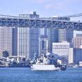 写真: 日仏共同訓練へ出航 フランス海軍ヴァンデミエール 20180212