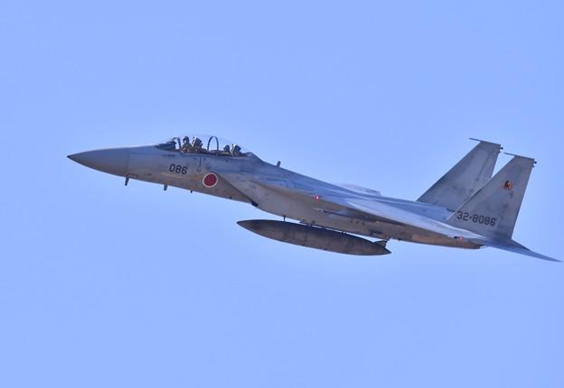 新田原から黒馬イーグル機動飛行へ。。20180218