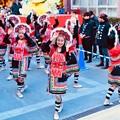 写真: 横浜中華街春節 祝舞遊行フィナーレ 最後まで舞踊り 20180224