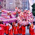 写真: 横浜中華街春節 祝舞遊行フィナーレ 龍舞最後まで楽しませる 20180224