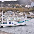 写真: 平日の伊豆稲取漁港。。仕事終えて静か 20180306