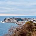 写真: 伊豆稲取は海に囲まれて。。島の様風景 20180306