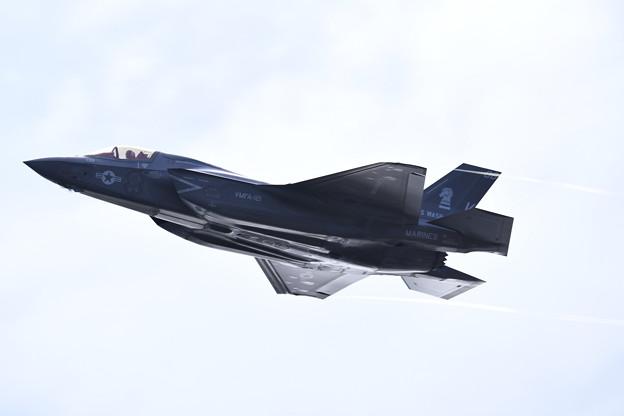 岩国遠征。。朝の岩国基地F35Bライトニング上がり(4) 20180322