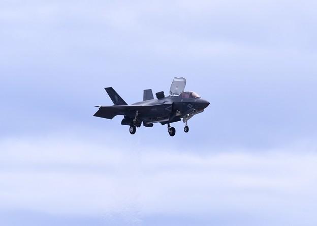 岩国遠征。。F35B垂直着陸へ。。20180322