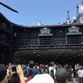 撮って出し。。北九州門司港 海上自衛隊護衛艦ひゅうが一般公開エレベーター 6月2日