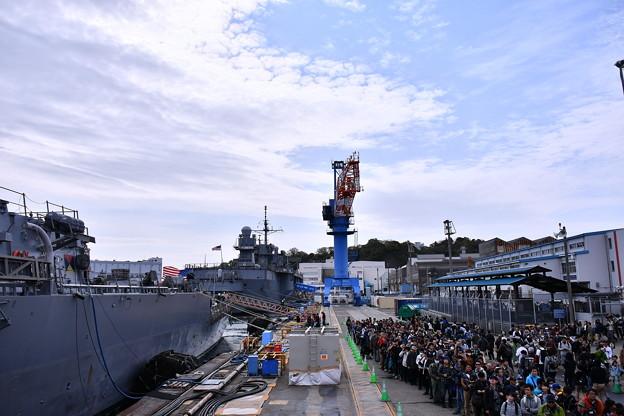 米海軍横須賀基地一般開放 艦船見学 20180407
