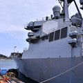 Photos: 米海軍横須賀基地一般開放 ミサイル駆逐艦カーティスウィルバー 20180407