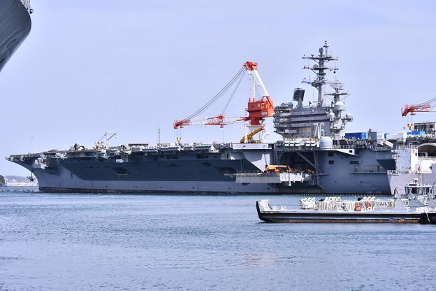 米海軍横須賀基地一般開放。。空母ロナルドレーガン 20180407