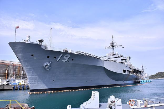 日米親善春まつり 横須賀基地で見れた揚陸指揮艦ブルーリッジ(2)  20180407