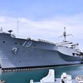 写真: 日米親善春まつり 横須賀基地で見れた揚陸指揮艦ブルーリッジ(2)  20180407