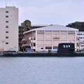 受領されたばかり新鋭潜水艦せいりゅう SS509(2)  20180407
