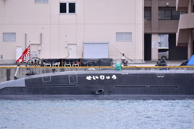 受領されたばかり新鋭潜水艦せいりゅう SS509(3)  20180407