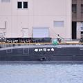 写真: 受領されたばかり新鋭潜水艦せいりゅう SS509(3)  20180407