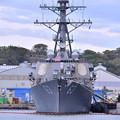 Photos: 米海軍横須賀基地 ミサイル駆逐艦ステザム 20180415