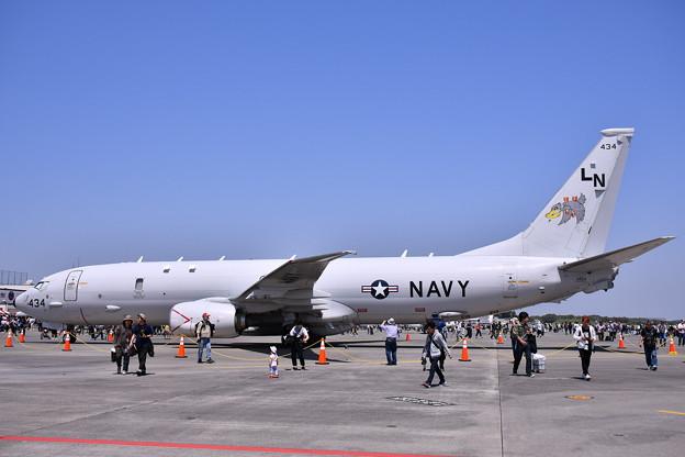 厚木基地開放。。P-8AP-8AポセイドンLN434ペリカン