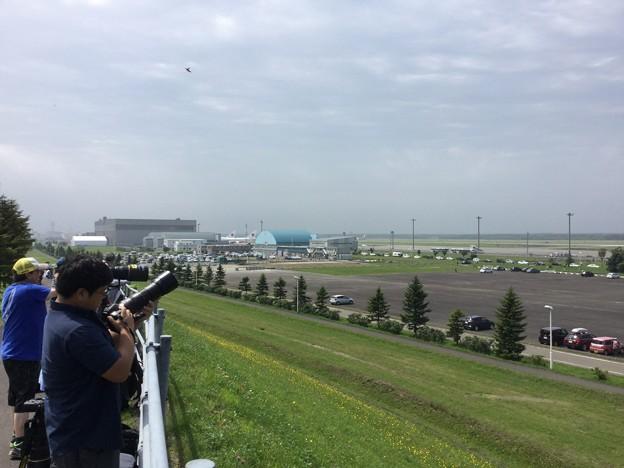 写真: 撮って出し。。今年も行って来ました千歳基地航空祭へ 7月21日