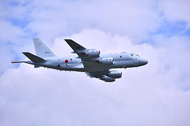撮って出し。。夏の札幌航空ページェント 海自P-1ローパス飛行 丘珠駐屯地 8月12日