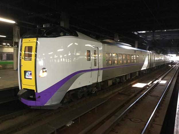撮って出し。。せっかく札幌JR北海道特急スーパーとかち 261系ディーゼル 8月12日