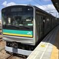 写真: 撮って出し。。JR東日本 南武支線 205系1000番台 8月14日