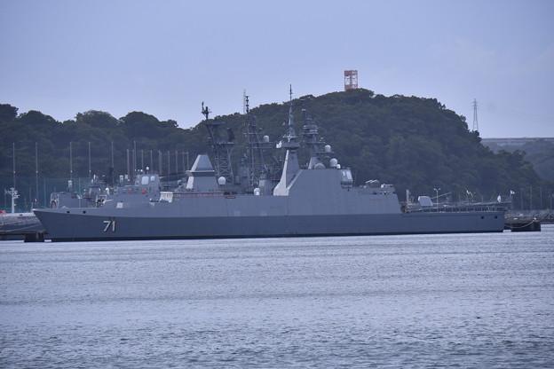 撮って出し。。横須賀基地に寄港シンガポール海軍フリゲート艦テネイシャス 20180816