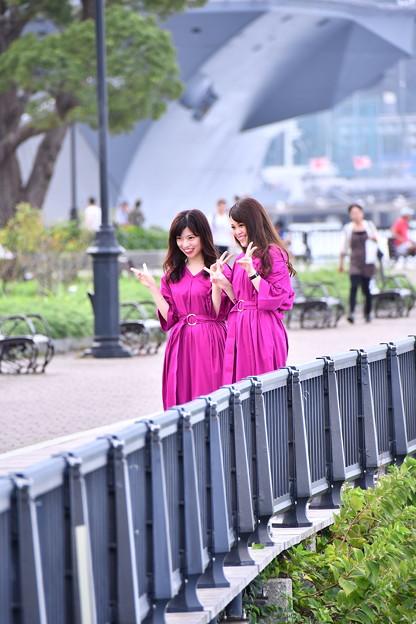撮って出し。。軍港の町横須賀ヴェルニー公園風景