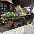 写真: 撮って出し。。夏風物詩総合火力演習 御殿場駅にも戦車 20180825