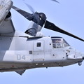 岩国の米海兵隊航空機による総合デモ飛行 オスプレイ 20180505