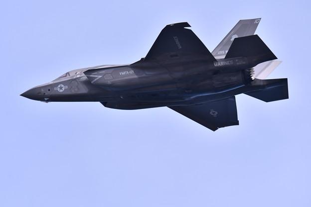 岩国基地 戦闘機による対地攻撃デモF35B 攻撃開始