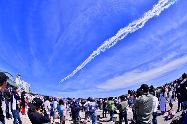 浜松リモートで静浜基地へご挨拶。。ブルーインパルス 20180520