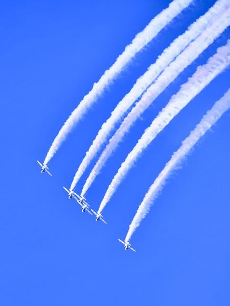 静浜基地航空祭 ブルーインパルスフェニックスループ(1) 20180520